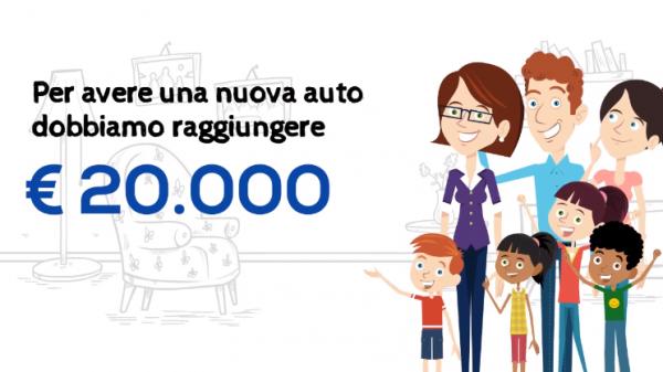 Oikos ha bisogno di un'auto per continuare a dare ai suoi bambini una vita normale, al via la campagna di crowdfunding con Meridonare