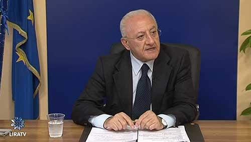 L'ira di De Luca: vergogna nazionale escludere il Pascale dai fondi per la ricerca