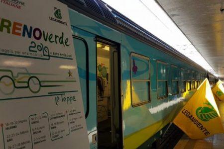 Parte da Palermo il treno verde di Legambiente e Ferrovie: farà il check up a 12 città