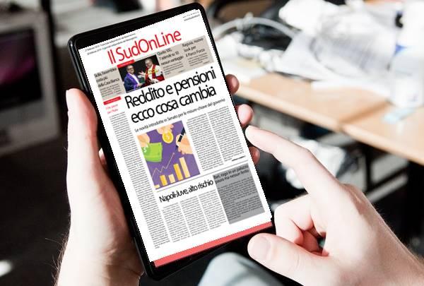 Il Sud on Line quotidiano del 28 febbraio 2019. Tutte le novità su Reddito e Quota Cento – L'assemblea siciliana costa più della Casa Bianca – Napoli-Juve, partita ad alto rischio –