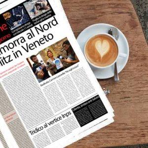 Il Sud On Line Quotidiano di mercoledì 20 febbraio. La Camorra cambia casa e va in Veneto – La strage delle tartarughe in Puglia – Tridico al vertice dell'Inps – I guai dei genitori di Renzi