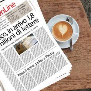 Il Sud On Line Quotidiano di lunedì 25 febbraio. Fisco, arrivano 1,78 milioni di lettere per i contribuenti – Sardegna, notte da incubo per i Cinquestelle – Napoli super a Parma, quattro reti