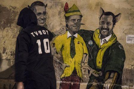 Di Maio, Salvini e Conte: il gatto, la volpe e Pinocchio