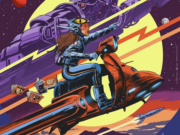Comicon, Francavilla firma il manifesto dell'edizione 2019