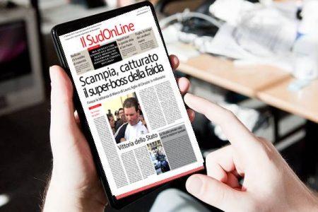 Il Sud On Line quotidiano del 3 marzo 2019. La cattura del superboss di Scampia – Spunta il reddito di maternità – Stasera la grande sfida fra Napoli e Juve