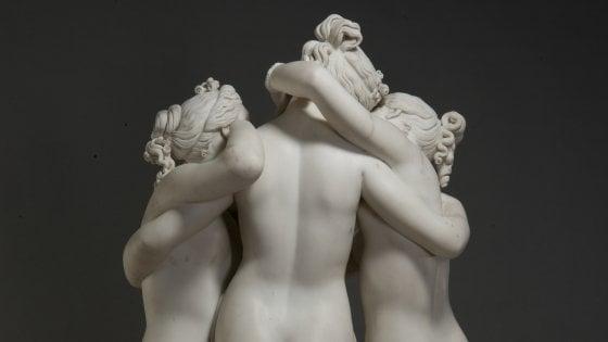 LA MOSTRA. I capolavori di Canova al Museo Archeologico di Napoli
