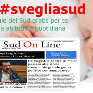 Il Sud On Line quotidiano del 16 marzo 2019. Salvini a Napoli: siamo in battaglia – De Magistris contro Di Maio: un genio della politica… – Europa League, al Napoli tocca l'Arsenal