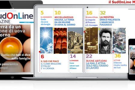 Il SudOnLine Magazine – La terra da un milione di uova al giorno – Lite per la ruota panoramica a Pompei – Le grandi mostre