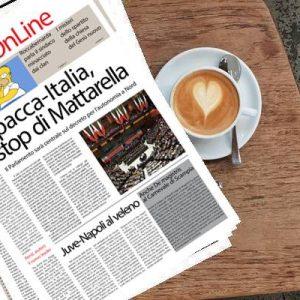 Il SudOnLine quotidiano del 4 marzo 2019. Decreto spacca-Italia, stop di Mattarella – Retata contro la mafia di Agrigento – Napoli-Juve, i soliti veleni
