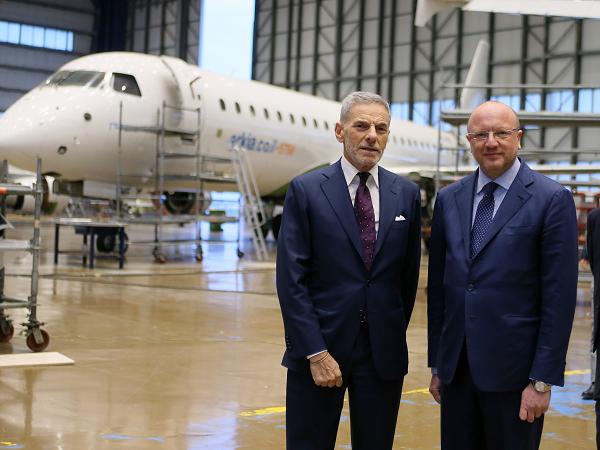 Atitech, il presidente di Confindustria Vincenzo Boccia in visita allo stabilimento