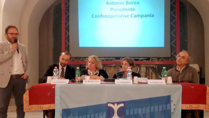 LA LETTERA. I trent'anni di Confcooperative Campania