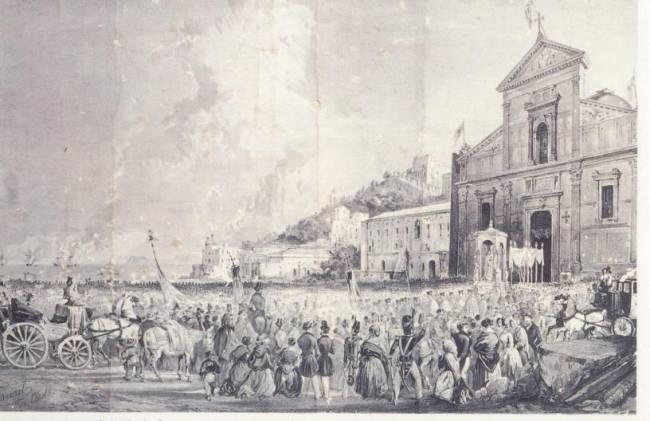 Le antiche feste del Regno di Napoli. A San Giovanni un mare di carretti