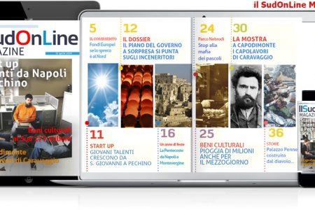 SudOnLine Magazine. I talenti di Napoli conquistano Pechino – Beni culturali, 177 milioni al Sud – A Capodimonte i capolavori di Caravaggio