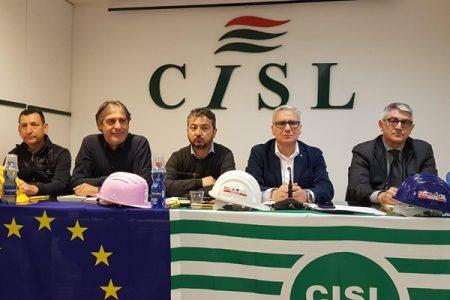 """Infrastrutture, Filca Cisl:"""" Costruire autostrade e ferrovie ma anche il ponte sullo Stretto"""""""