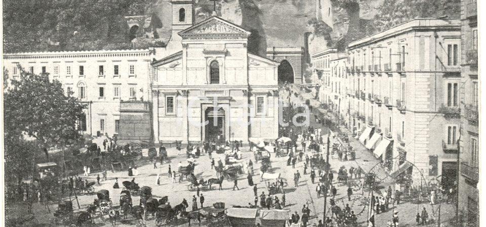 Le antiche feste del Regno di Napoli. La madonna di Piedigrotta, la processione delle fanciulle e del Re