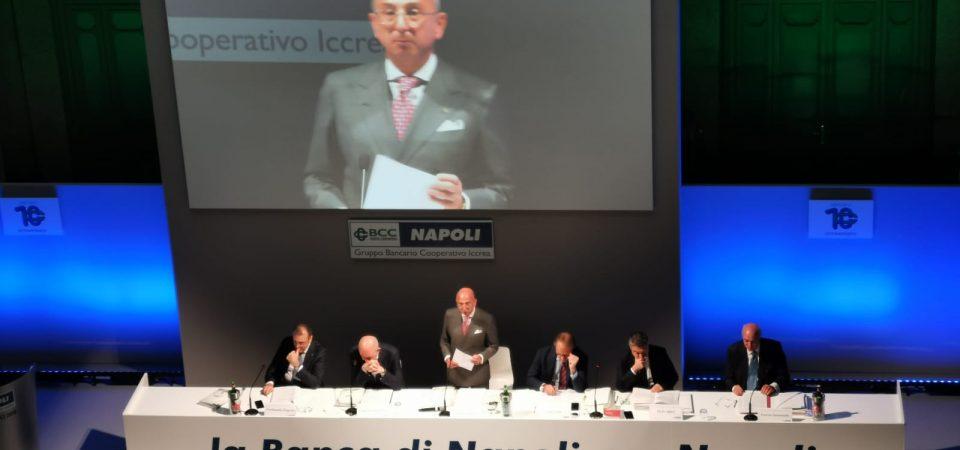 BCC NAPOLI: BILANCIO 2018 APPROVATO ALL'UNANIMITA' – CONFERMATO IL TREND DI CRESCITA PER IL DECIMO ANNO