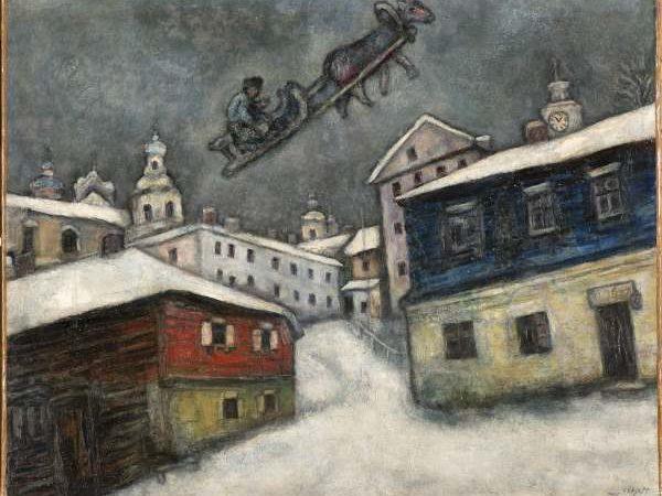 Per la prima volta a Napoli, la poetica magia di Marc Chagall
