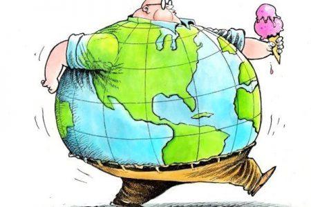 Campania, allarme obesità
