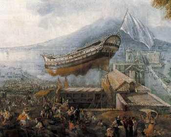 Accadde Oggi nel Sud. 24 giugno 1818: Varato a Napoli il primo mezzo navale a vapore del Mediterraneo