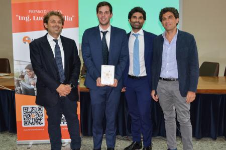Informatica, assegnato il premio di laurea in memoria dell'ing. Lucio Goglia (Advanced Systems)