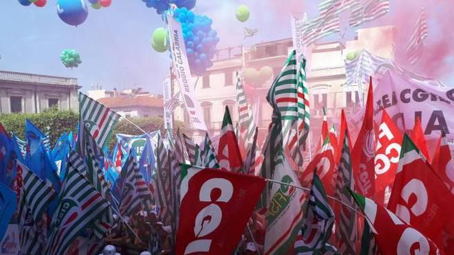 Zero infrastrutture al Sud, la lunga marcia dei sindacati in Calabria