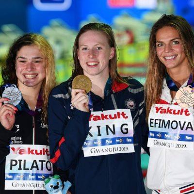 """Nuoto, a 14 anni Benedetta Pilato è la nuova stella: """"Competere mi aiuta a crescere"""""""