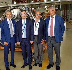 Aeronautica, Bucarest studia Napoli: delegazione rumena in visita ad Atitech