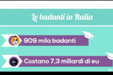 VideoDoc. I numeri del SudOnLine, quante sono e quanto costano le badanti in Italia