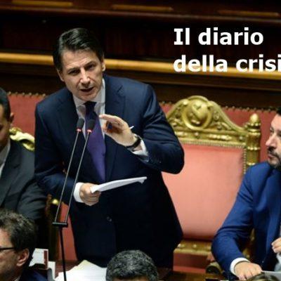 Diario della crisi. Renzi insiste: stop al voto voluto da Salvini