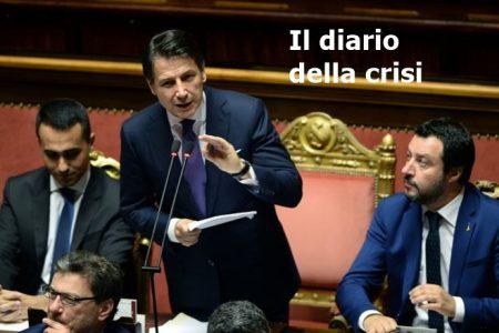 Diario della crisi. Il M5S rompe con Salvini, più vicino il governo con il Pd