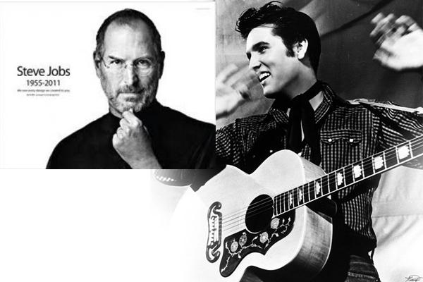 Come nascono le leggende. Steve Jobs come Elvis Presley: non sarebbe morto…