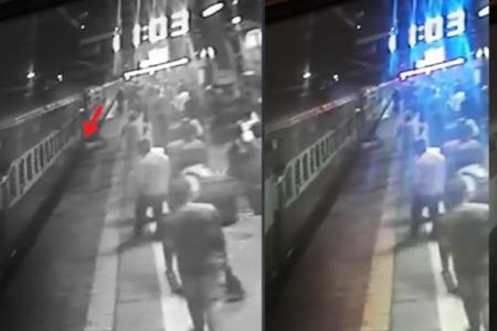 Video-choc. Un ragazzo cade sui binari del metro e viene salvato