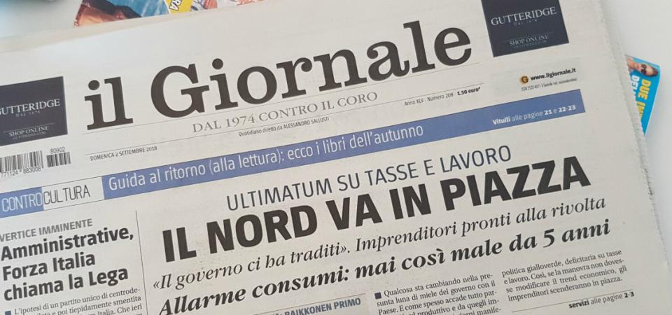 """LETTERA APERTA / QUANDO GLI INCENTIVI FANNO MALE… SOLO AL SUD – Messaggio al """"Giornale"""" e a Carlo Lottieri"""