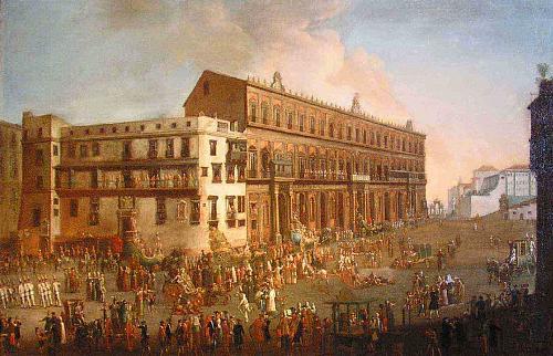 Le feste nel Regno di Napoli. Ecco la Fiera di Palazzo Reale
