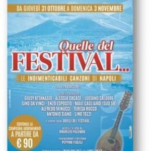 """Al Trianon Viviani  Quelle del Festival… Le indimenticabili canzoni di Napoli"""""""