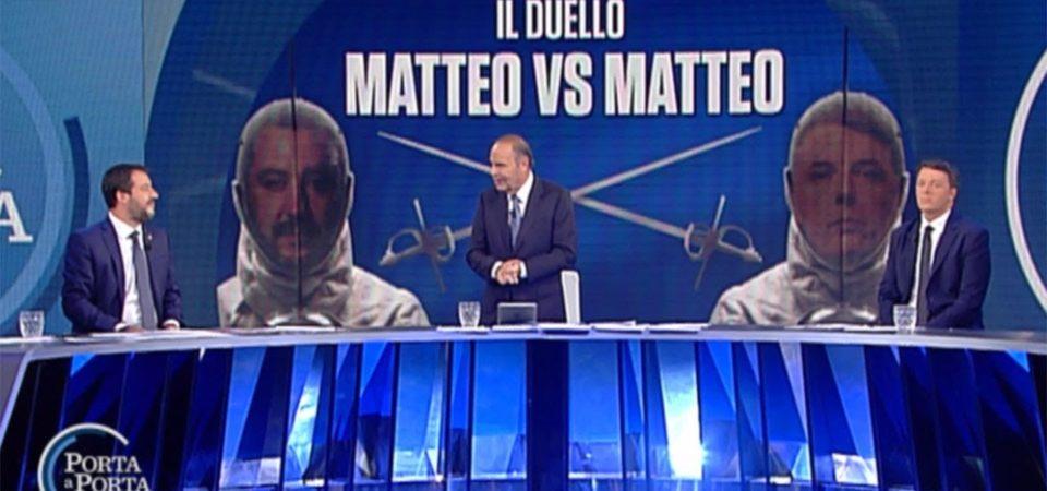 Salvini-Renzi, quando la politica diventa solo uno show