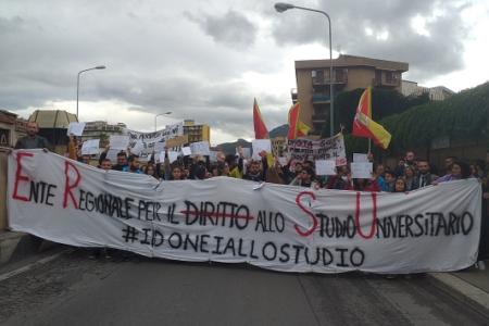 Palermo: mobilitazione degli studenti per il diritto al posto letto e alla borsa di studio