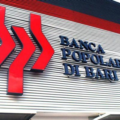 Popolare di Bari, agli arresti i vertici della banca