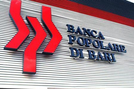 Popolare di Bari, piano da un miliardo per il salvataggio