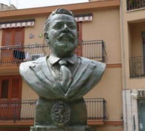 Imbrattano il busto del sindaco ucciso dalla mafia nel 1915