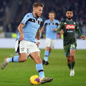 Una papera di Ospina condanna il Napoli: la Lazio passa con Immobile