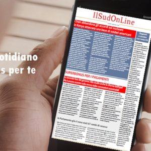 SudOnLine quotidiano del 16 gennaio 2020 – Decapitati i clan del Messinese – A Napoli il vertice Italia-Francia – Negli ultimi 5 anni record del caldo