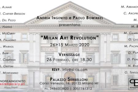 APPUNTAMENTI / Milan Art Revolution dal 26 febbraio al 15 marzo