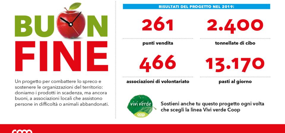 Stop agli sprechi alimentari, così sono state recuperate 2400 tonnellate di cibo