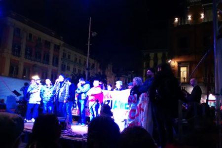 Salvini-Sartori, duello a Napoli