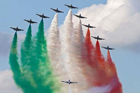 Festa della Repubblica, oggi nuovo spettacolo delle frecce tricolori