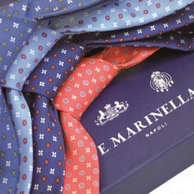 Città Metropolitana di Napoli, Marinella presenta il prototipo della cravatta istituzionale