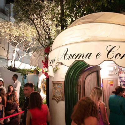 Tornano le notti Anema e Core a Capri con la riapertura della Taverna sabato 20 giugno