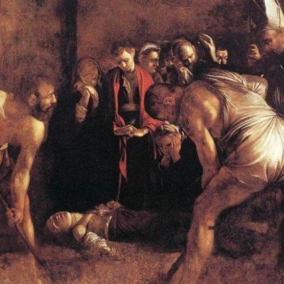 Un'opera da salvare: il Seppellimento di Santa Lucia di Caravaggio