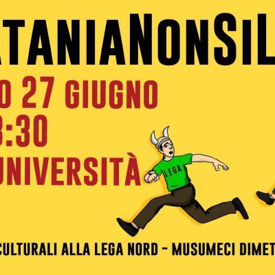 A Catania la manifestazione anti-Lega